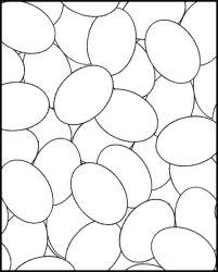 plansa de colorat paste de colorat p77