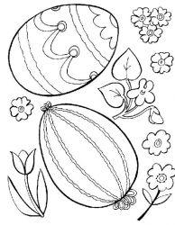 plansa de colorat paste de colorat p82