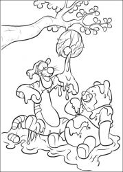 plansa de colorat piglet de colorat p08