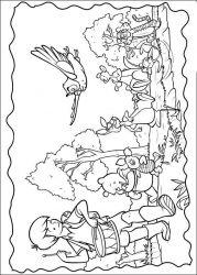 plansa de colorat piglet de colorat p30