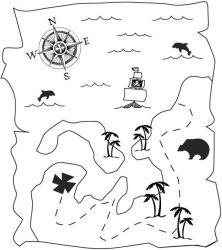 plansa de colorat pirati de colorat p11