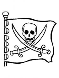 plansa de colorat pirati de colorat p13