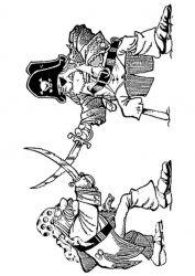 plansa de colorat pirati de colorat p14
