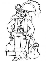 plansa de colorat pirati de colorat p22