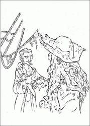 plansa de colorat piratii din caraibe de colorat p04