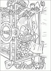 plansa de colorat piratii din caraibe de colorat p26