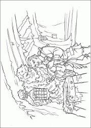 plansa de colorat piratii din caraibe de colorat p29