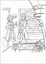 plansa de colorat piratii din caraibe de colorat p30