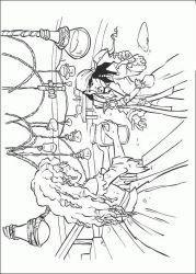 plansa de colorat piratii din caraibe de colorat p32