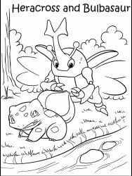 plansa de colorat pokemon de colorat p04