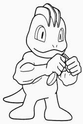 plansa de colorat pokemon de colorat p10