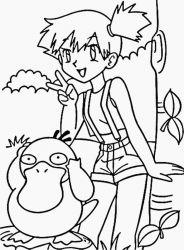 plansa de colorat pokemon de colorat p13