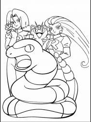 plansa de colorat pokemon de colorat p16