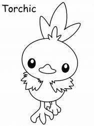 plansa de colorat pokemon de colorat p23