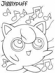 plansa de colorat pokemon de colorat p28