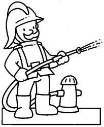 plansa de colorat pompieri de colorat p02