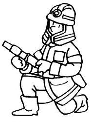 plansa de colorat pompieri de colorat p11