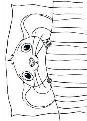 plansa de colorat povestea lui despereaux de colorat p01
