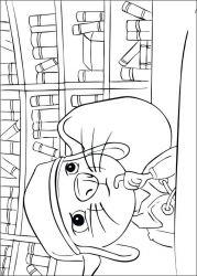 plansa de colorat povestea lui despereaux de colorat p04