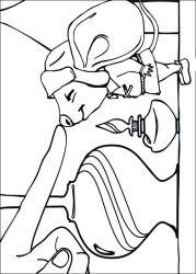 plansa de colorat povestea lui despereaux de colorat p05