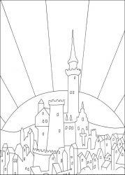 plansa de colorat povestea lui despereaux de colorat p08