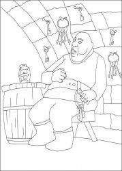plansa de colorat povestea lui despereaux de colorat p10