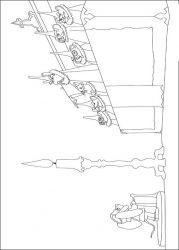 plansa de colorat povestea lui despereaux de colorat p11
