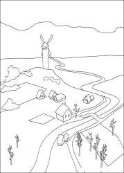 plansa de colorat povestea lui despereaux de colorat p15