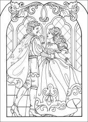 plansa de colorat printesa leonora de colorat p04