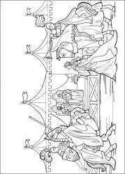 plansa de colorat printesa leonora de colorat p13