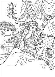 plansa de colorat printesa leonora de colorat p19