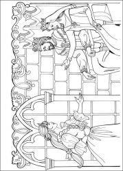 plansa de colorat printesa leonora de colorat p20