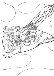 plansa de colorat razboiul stelelor de colorat p10
