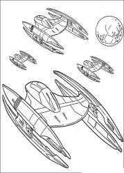 plansa de colorat razboiul stelelor de colorat p104
