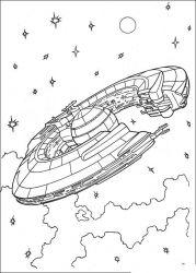 plansa de colorat razboiul stelelor de colorat p105