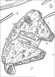 plansa de colorat razboiul stelelor de colorat p95