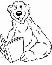 plansa de colorat rupert bear de colorat p08