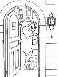 plansa de colorat rupert bear de colorat p09