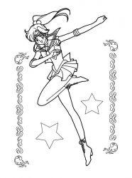 plansa de colorat sailor moon de colorat p11