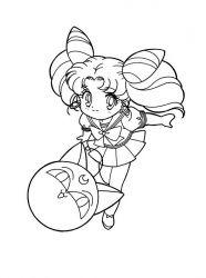plansa de colorat sailor moon de colorat p30