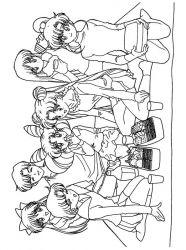 plansa de colorat sailor moon de colorat p37