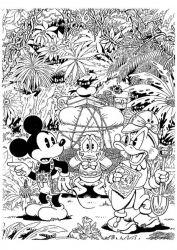 plansa de colorat scrooge mcduck de colorat p15