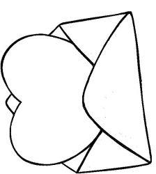 plansa de colorat sfantul valentin de colorat p04