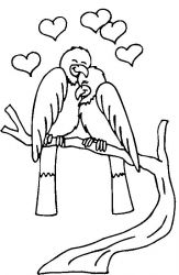 plansa de colorat sfantul valentin de colorat p13