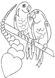 plansa de colorat sfantul valentin de colorat p15