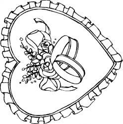 plansa de colorat sfantul valentin de colorat p35