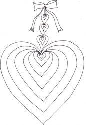 plansa de colorat sfantul valentin de colorat p37