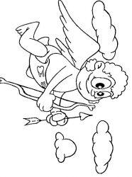 plansa de colorat sfantul valentin de colorat p68
