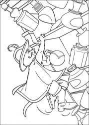 plansa de colorat shrek de colorat p141