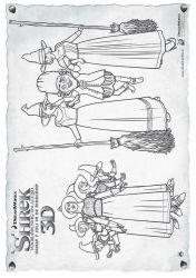 plansa de colorat shrek de colorat p49
